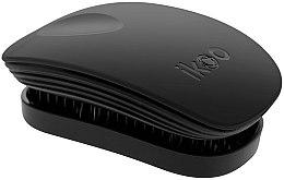 Profumi e cosmetici Pettine - Ikoo Pocket Black Brush