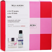 Profumi e cosmetici Set - Bella Aurora Skincare Set (f/cr/50ml+micelar/water/100ml)