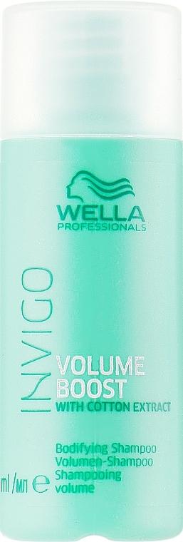 Shampoo volumizzante - Wella Professionals Invigo Volume Boost Bodifying Shampoo