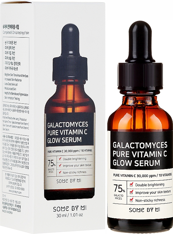 Siero con vitamina C e galattomisi - Some By Mi Galactomyces Pure Vitamin C Glow Serum