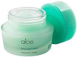 Profumi e cosmetici Crema viso lenitiva al succo di aloe vera - It's Skin Aloe Relaxing Cream