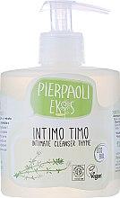 Detergente intimo con estratto di timo organico - Ekos Personal Care Thyme Intimate Cleanser (con dosatore) — foto N1