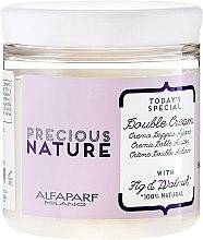 Profumi e cosmetici Crema-condizionante per capelli, con estratto di fico e noci - Alfaparf Precious Nature Double Cream With Fig&Walnut