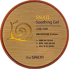 Profumi e cosmetici Gel lenitivo alla bava di lumaca - The Saem Snail Soothing Gel