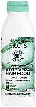 Profumi e cosmetici Balsamo idratante per capelli all'Aloe Vera - Garnier Fructis Aloe Vera Hair Food Conditioner