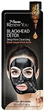 Profumi e cosmetici Maschera film per viso - 7th Heaven Renew You Blackhead Detox Peel Off Mask