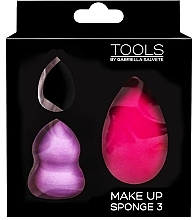 Profumi e cosmetici Set di spugne trucco - Gabriella Salvete Make-up Sponge Kit (3pz)