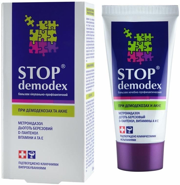 Balsamo terapeutico e profilattico - FitoBioTehnologia Stop Demodex