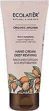 Profumi e cosmetici Crema mani nutriente - Ecolatier Organic Argana Deep Reviving Hand Cream
