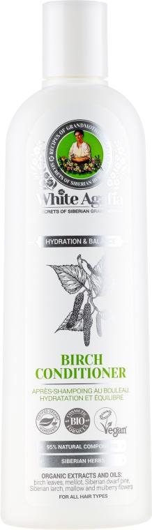 """Balsamo di betulla per capelli """"Idratante ed Equilibrante"""" - Ricette di nonna Agafya White Agafia Birch Conditioner"""