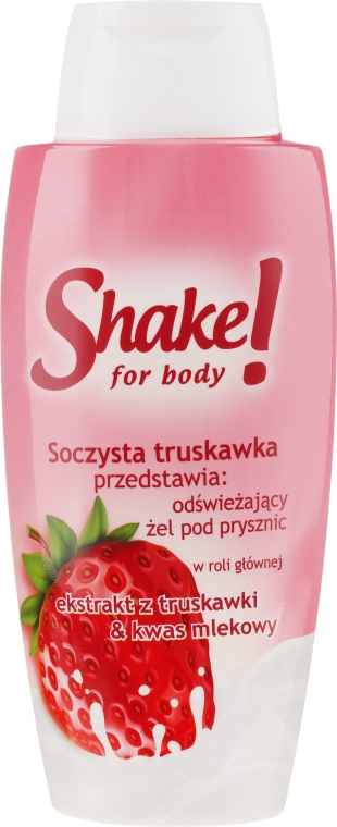 "Gel doccia ""Fragola"" - Shake for Body Shower Gel Strawberry"