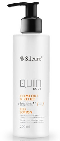 Balsamo per piedi stanchi - Silcare Quin Body Comfort & Relief Legs Lotion — foto N1