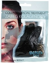 Profumi e cosmetici Maschera al collagene con argilla nera - Beauty Face Collagen Hydrogel Mask