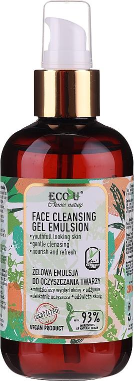 Emulsione-gel detergente viso - Eco U Face Cleansing Gel Emulsion