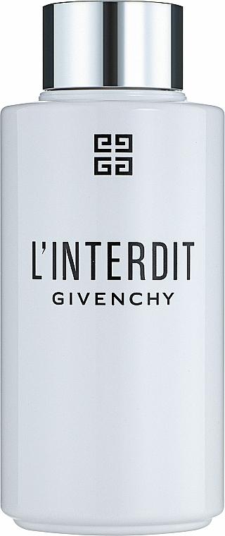 Givenchy L'Interdit - Olio doccia