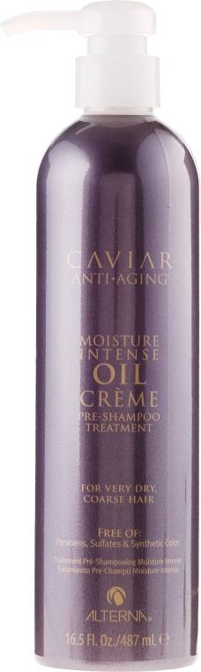 """Shampoo per capelli """"Recupero intensivo"""" - Alterna Caviar Moisture Intense Oil Creme Pre-Shampoo Treatment — foto N1"""