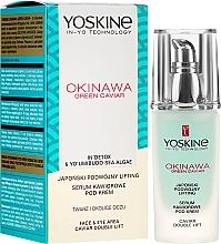 Profumi e cosmetici Siero-lifting viso e contorno occhi - Yoskine Okinawa Green Caviar Lifting Serum