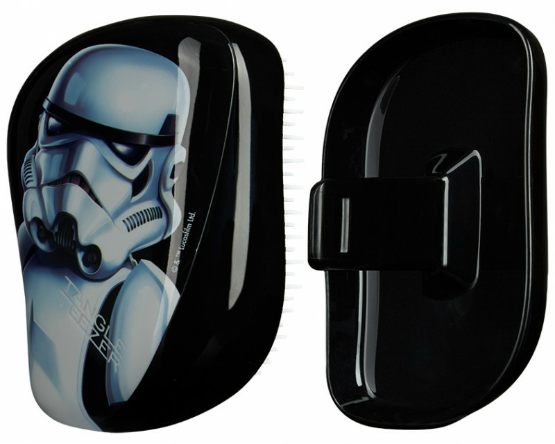 Spazzola capelli compatta - Tangle Teezer Compact Styler Star Wars Storm Trooper Brush
