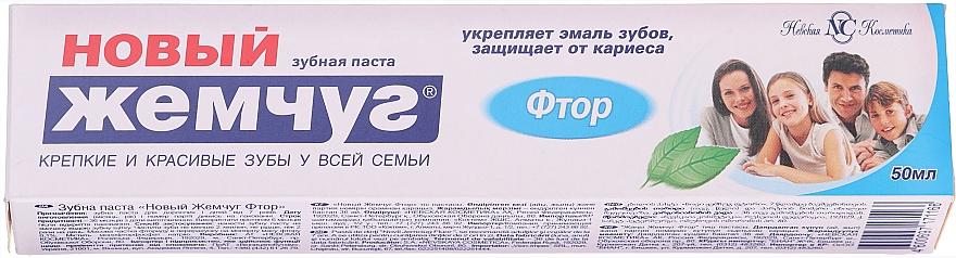 """Dentifricio """"Fluoruro"""" - Novyi Zjemchug"""