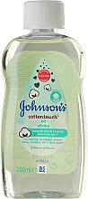 """Profumi e cosmetici Olio per bambini """"Tenerezza di cotone"""" - Johnson's Baby Cotton Touch Oil"""
