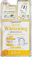 Profumi e cosmetici Maschera viso a tre stadi - Bergamo 3-Step Whitening Mask Pack