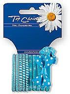 Profumi e cosmetici Elastici per capelli 12 pz, 22067 - Top Choice