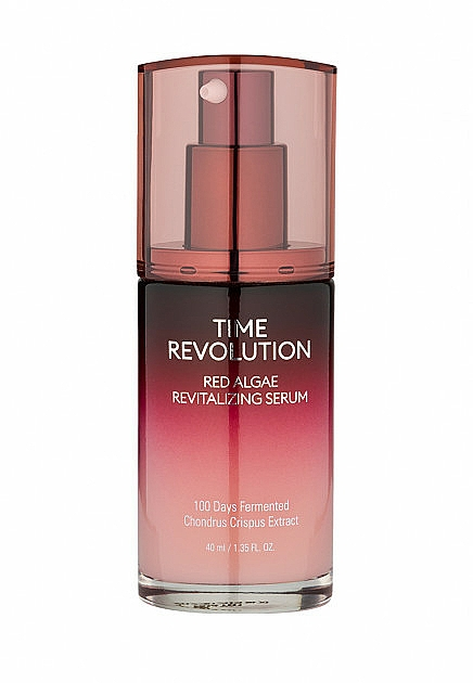 Siero con estratto di alghe rosse - Missha Time Revolution Red Algae Revitalizing Serum