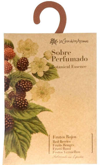 "Bustina aromatica ""Bacche"" - La Casa de Los Botanical Essence Red Berries Scented Sachet"