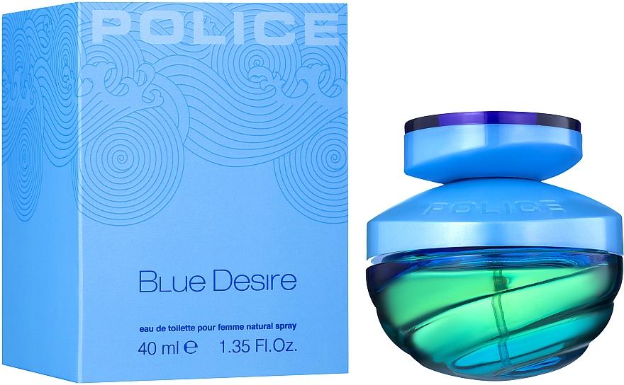Police Blue Desire - Eau de toilette  — foto N2
