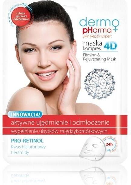 Maschera viso - Dermo Pharma Skin Repair Expert Firming Rejuvenating Mask 4D
