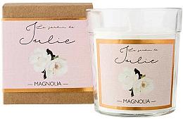 "Profumi e cosmetici Candela profumata ""Magnolia"" - Ambientair Le Jardin de Julie Magnolia"