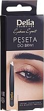 Profumi e cosmetici Pinzette per sopracciglia - Delia Cosmetics Eyebrow Expert
