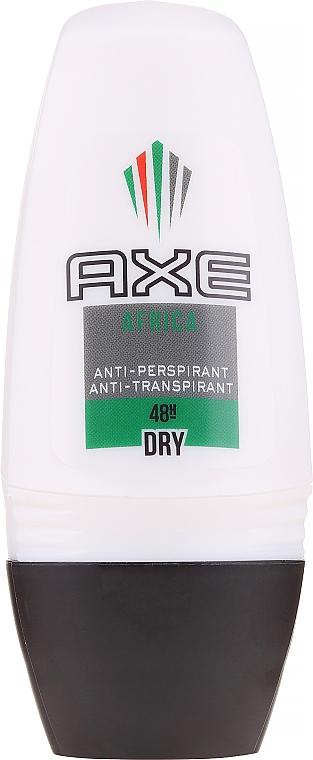 Deodorante antitraspirante per uomo - Axe Africa Dry Deo Roll-On Men