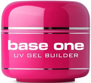 Gel per unghie, incolore - Silcare Uv Gel Builder Clear Base One Clear V