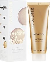 Profumi e cosmetici Maschera per la luminosità della pelle - Lancaster Instant Glow Gold Peel-Off Mask