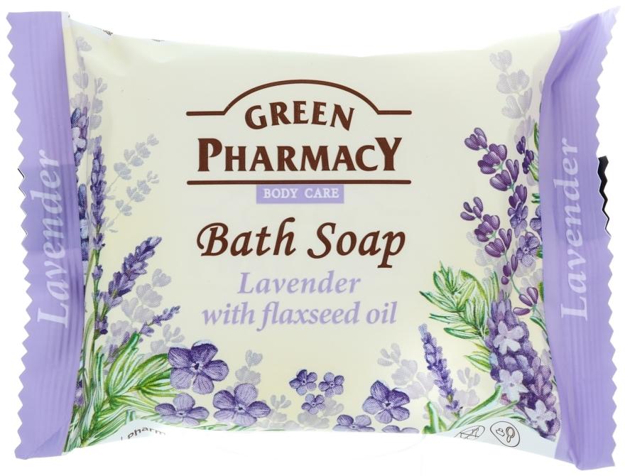 """Sapone """"Lavanda con olio di lino """" - Green Pharmacy"""