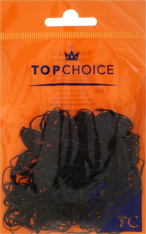 Elastici per capelli 22722, neri - Top Choice