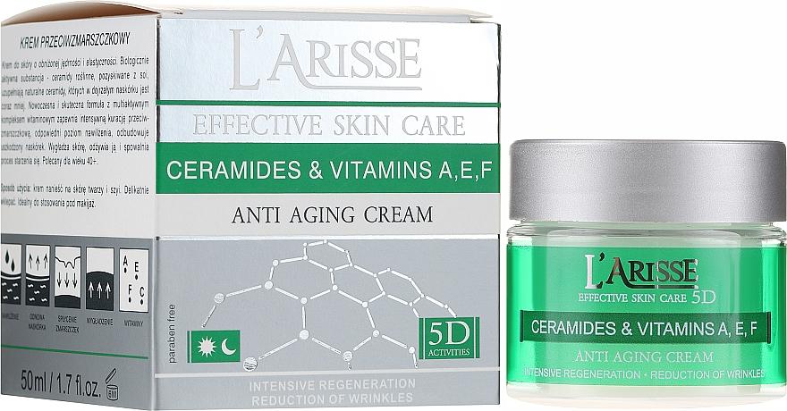 Crema antirughe 40+ - Ava Laboratorium L'Arisse 5D Anti-Wrinkle Cream Ceramides + Vitamines