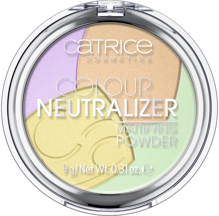 Cipria - Catrice Colour Neutralizer Mattifying Powder — foto N1