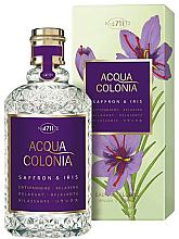 Profumi e cosmetici Maurer & Wirtz 4711 Acqua Colonia Saffron & Iris - Colonia