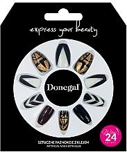 Profumi e cosmetici Set di unghie artificiali con colla, 3064 - Donegal Express Your Beauty