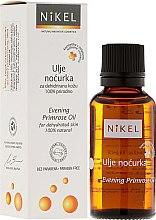 Profumi e cosmetici Olio di enotera - Nikel Evening Primrose Oil
