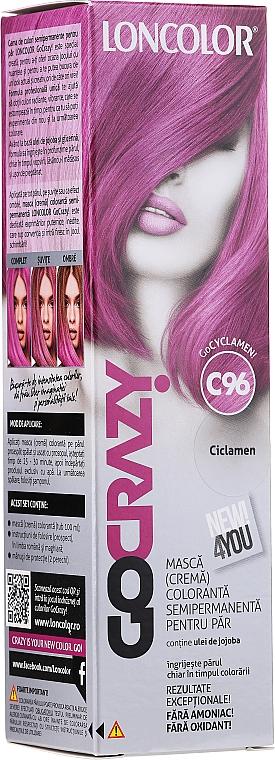 Tinta-maschera colorante semipermanente per capelli - Loncolor GoCRAZY!