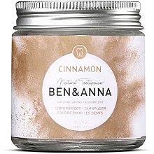 Profumi e cosmetici Polvere per denti alla cannella - Ben & Anna Toothpowder Cinnamon