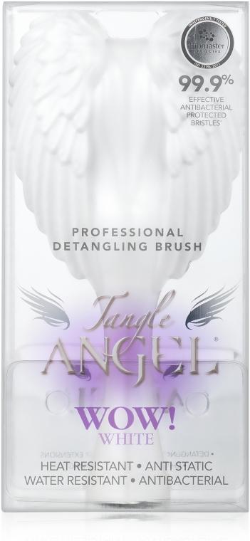 Spazzola per capelli - Tangle Angel Brush Pearl White — foto N3