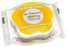 """Profumi e cosmetici Bioshampoo solido per capelli normali """"Argilla gialla"""" - Ma Provence Shampoo"""