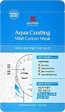 Profumi e cosmetici Maschera viso - Leaders Ex Solution Aqua Coating Mild Cotton Mask