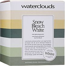 Profumi e cosmetici Polvere schiarente capelli - Waterclouds Snow Bleach White