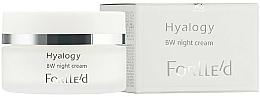 Profumi e cosmetici Crema da notte BW, per il tono della pelle - ForLLe'd Hyalogy BW Night Cream