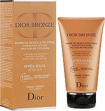 Profumi e cosmetici Crema dopo sole, viso e corpo - Dior Bronze After Sun Baume de Monoi